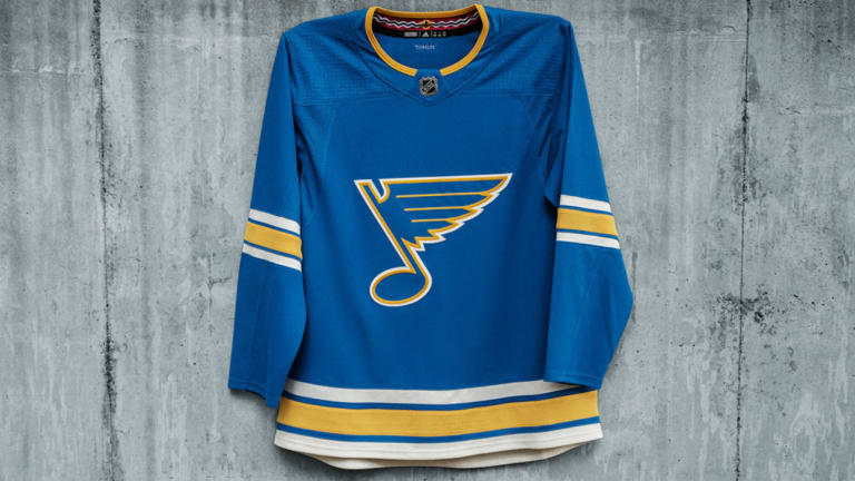 Blues to Wear Heritage Third Jersey 11 Times During 2018-19 Season