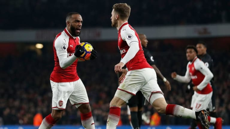 Arsenal Forward Alexandre Lacazette Pleads With 'Really Important' Midfielder to Sign New Deal