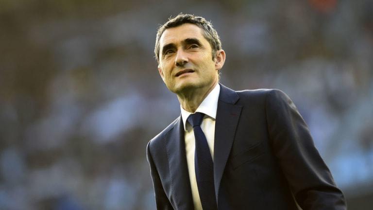 Barcelona Stars & Josep Bartomeu 'Behind' Ernesto Valverde Following Copa del Rey Success
