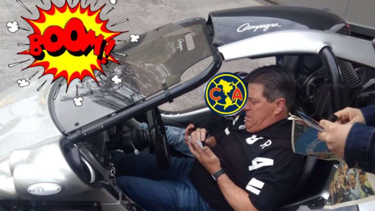 VIDEO | El increíble auto que presume Miguel Herrera en Coapa