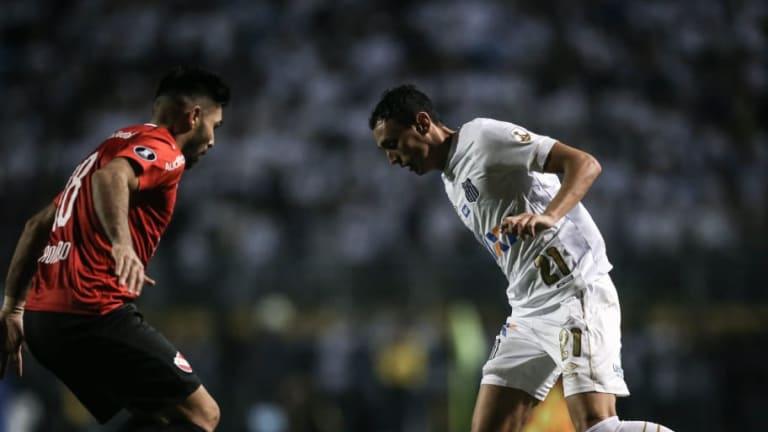 ¿NO SERÁ MUCHO? | La cuenta oficial del Santos de Brasil se burló de Independiente