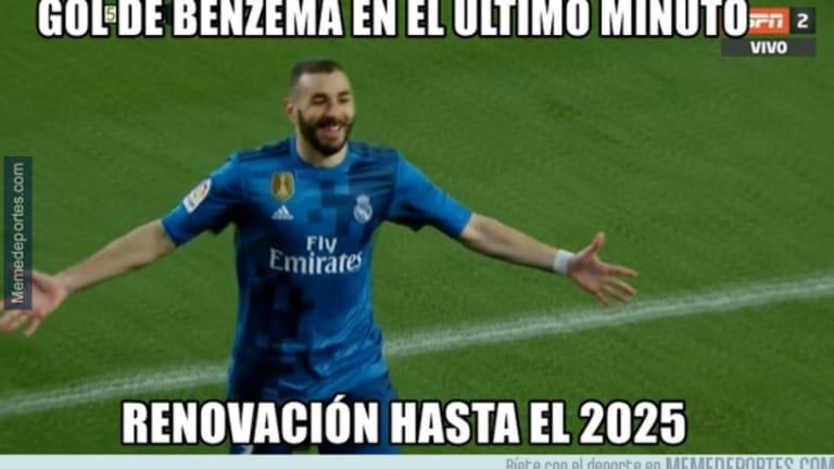Los mejores 'memes' de la victoria del Real Madrid, la suplencia de Isco, el gol de Benzema y más