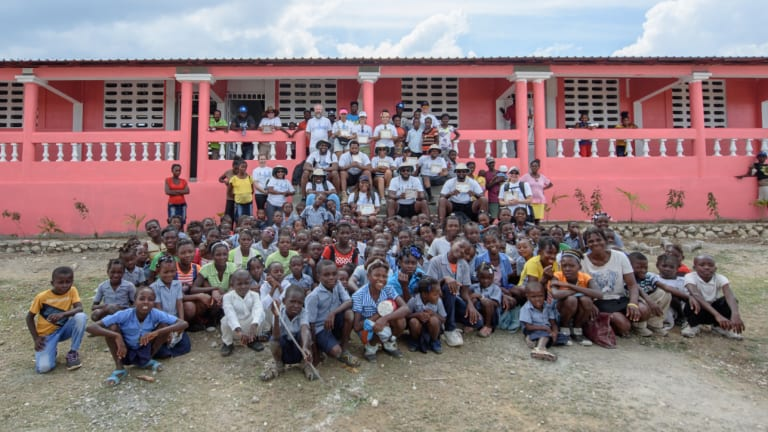 In Honor of His Father, Cliff Avril Is Building Schools in Haiti