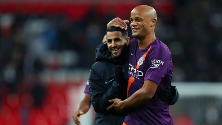 Tottenham 0-1 Manchester City: Reports, Ratings & Reactions as Mahrez Secures Crucial City Victory