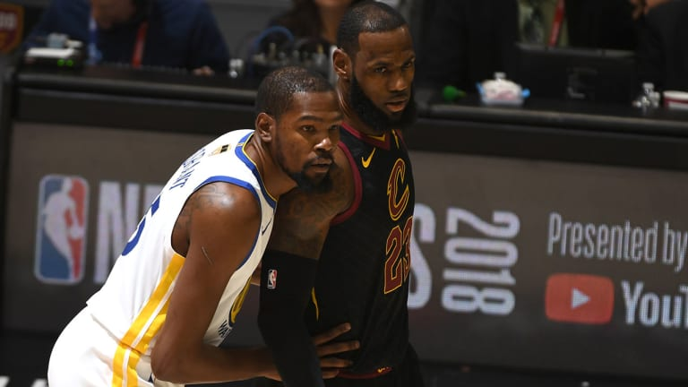 Stephen A. Smith: LeBron James Texted Kevin Durant About Playing In Los Angeles
