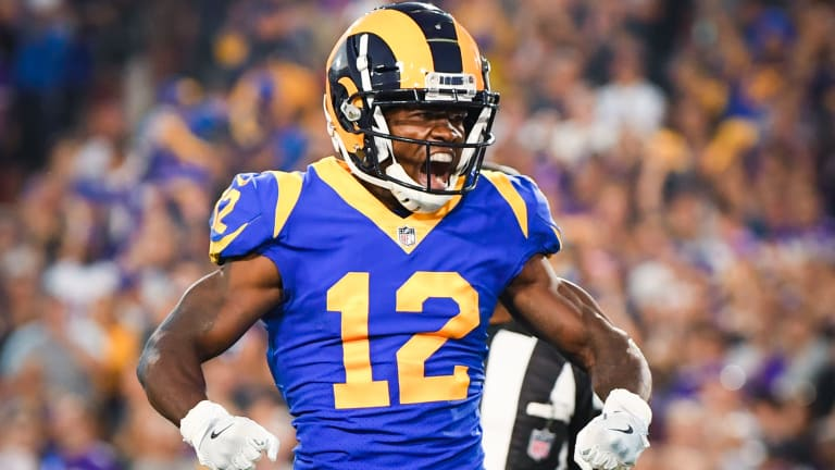 Rams WR Brandin Leaves Seahawks Game With Concussion After Taking Huge Hit