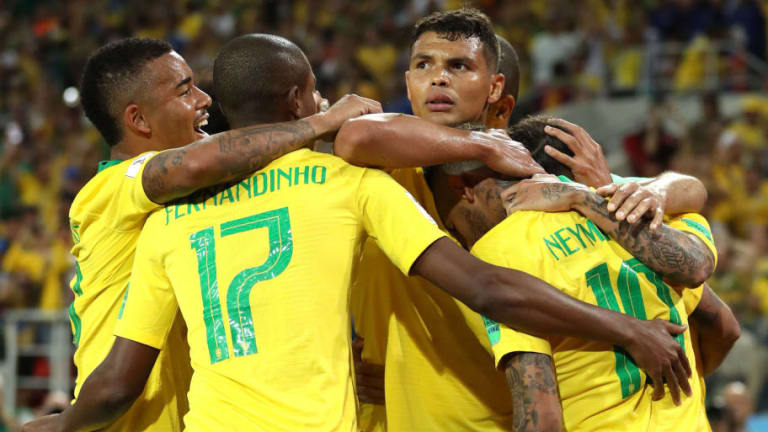 Serbia 0-2 Brazil: Selecao Through to Last 16 After Crucial Win in Final Group Game in Moscow