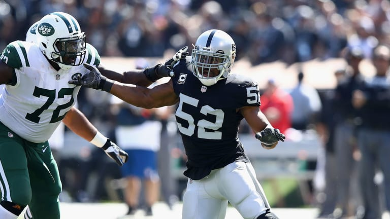 On Khalil Mack, Aaron Donald and the Value of a Franchise Defensive Player
