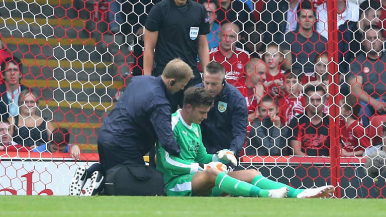 Nick Pope Goes Off Injured as Burnley Secure 1-1 Draw in Europa League Qualifier Against Aberdeen