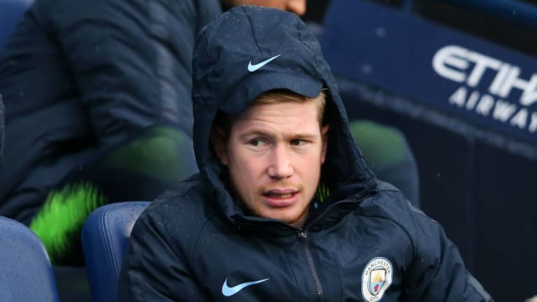 Man City Talisman Kevin De Bruyne in Danger of Missing Crucial Liverpool Clash With Muscle Injury