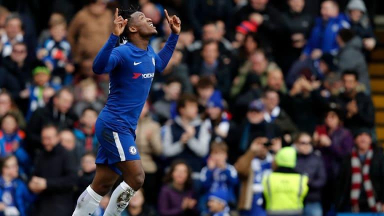 Michy Batshuayi Shows His True Blue Colours Despite Move to Borussia Dortmund