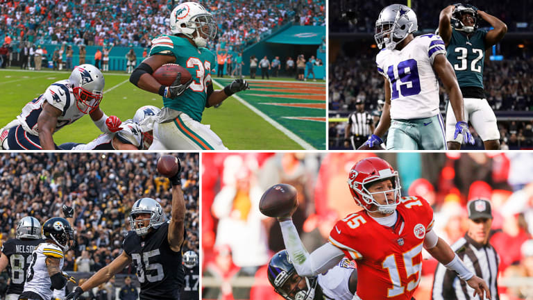Week 14 Takeaways: Miami's Lateral Walk-Off Win, Dallas's Tip Drill to Win, Mahomes's Legend Grows