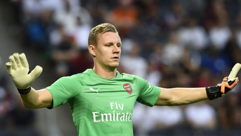 'Start Him': Arsenal Fans Call For Summer Signing Bernd Leno to Be Handed Starting Role