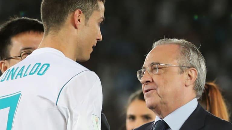 TENSIÓN | Los gestos de Cristiano con Florentino Pérez que muestran la incomodidad entre ambos