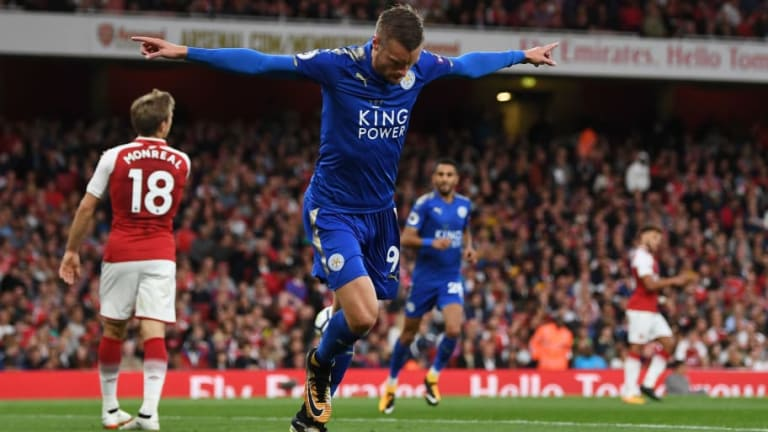 Leicester Hitman Jamie Vardy Snubbed Arsenal After Advice From His England Team-Mates at Euro 2016