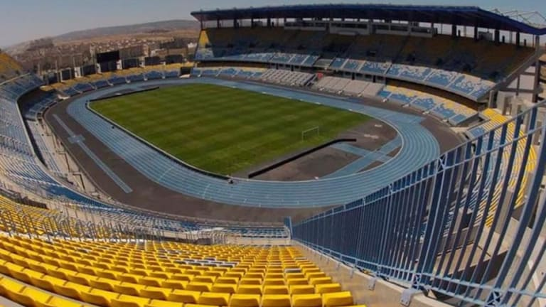 Problemas en el estadio de Tánger a dos semanas de la final de la Supercopa