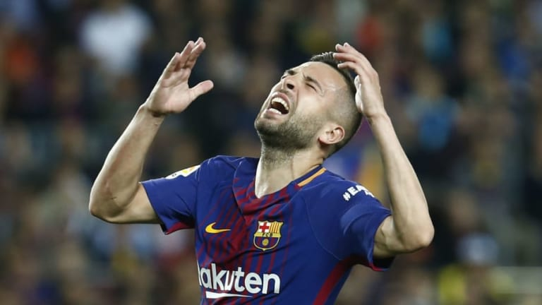 Premier League Clubs Circle Jordi Alba as Barcelona Star Waits for Contract Renewal