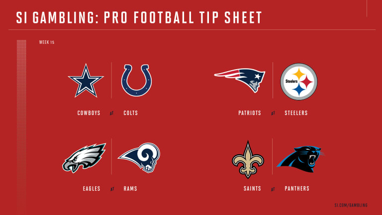 Weekly Tip Sheet: The Complete Printable Betting Guide to NFL Week 15 Games