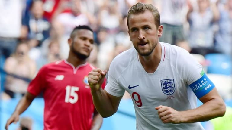 Harry Kane Coy Over Golden Boot Chances But Admits He's 'Buzzing' After World Cup Treble