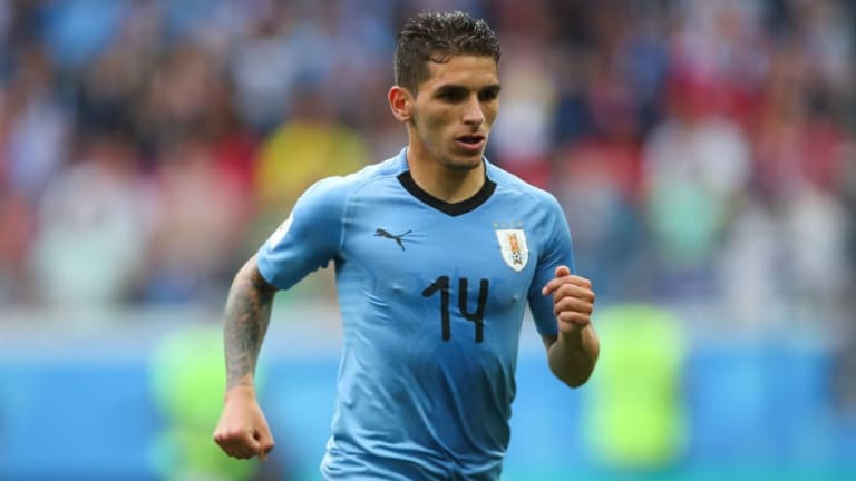 Arsenal Target Heading Directly for London After Uruguay Suffer Elimination From World Cup