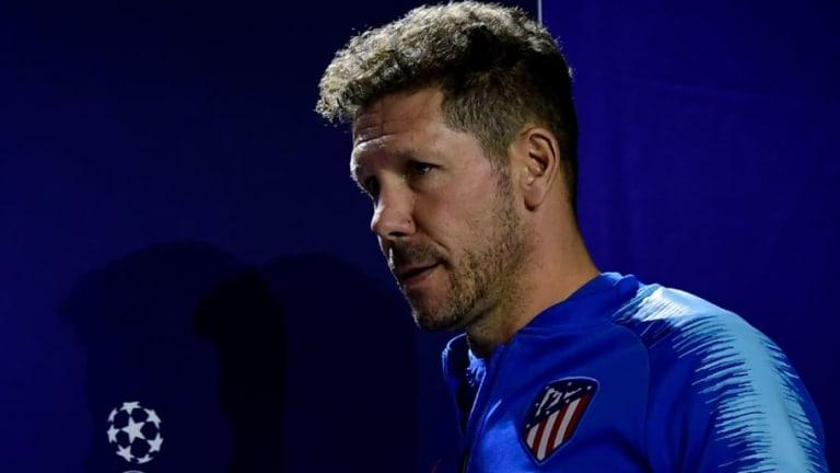 "Diego Simeone: ""Nos vamos a encontrar a un equipo que sabe a lo que juega"""