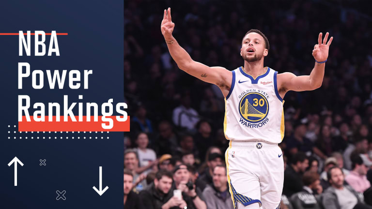 NBA Power Rankings: Stephen Curry and the Warriors Are Back on Track