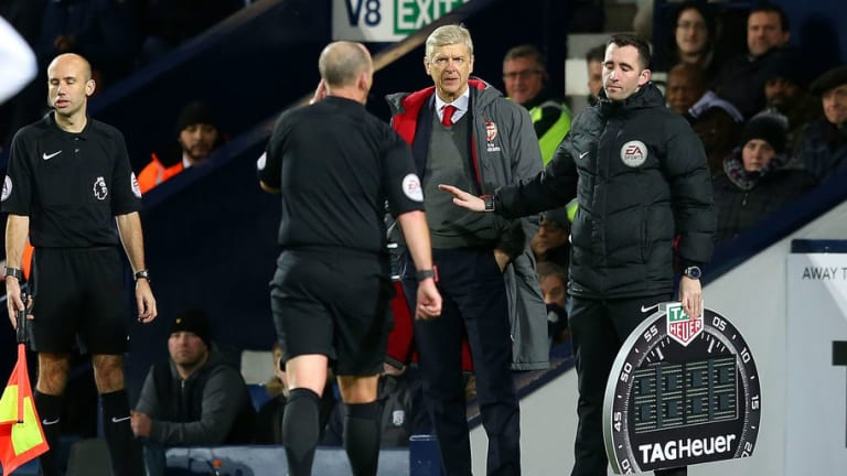 Arsene Wenger Charged by FA for Comments Made After Controversial West Brom Penalty