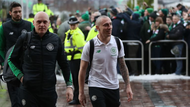PHOTO: Scott Brown Lives Up to 'Hard Man' Tag During Celtic's Win Over Aberdeen