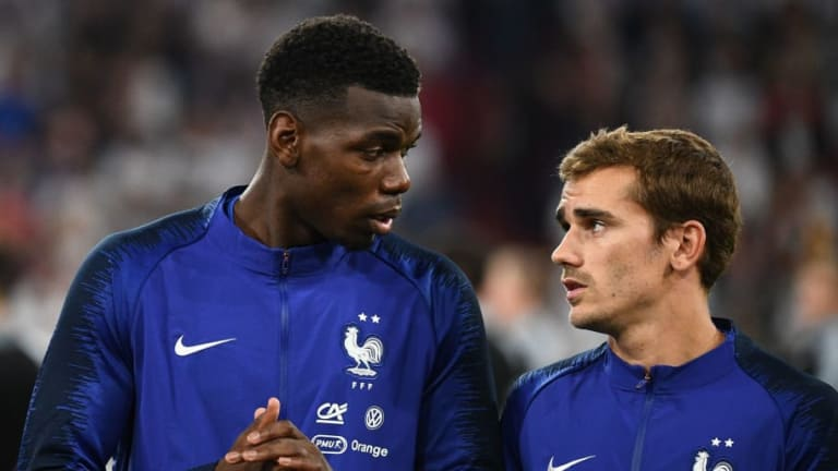 Antoine Griezmann Admits He's 'Tempted' to Play With Paul Pogba at Club Level