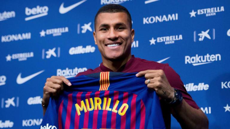 Las declaraciones de Jeison Murillo tras ser presentado con el FC Barcelona
