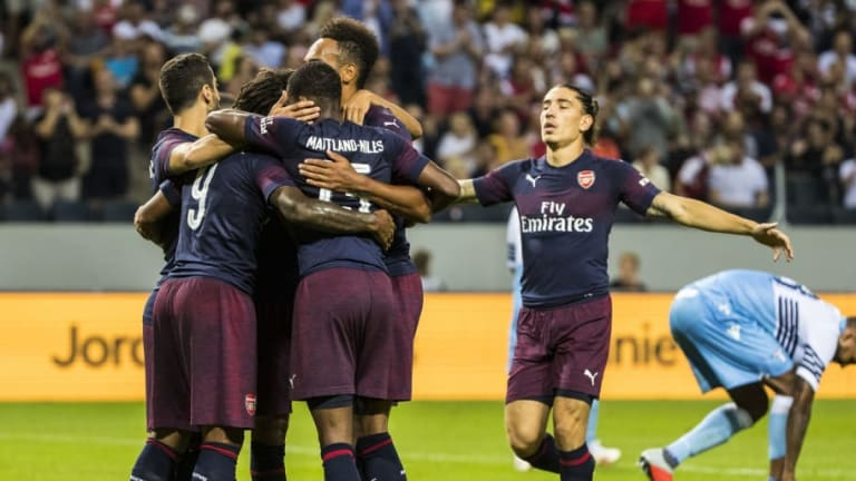 Arsenal Fans Express Their 'Love' for New Signing After Debut in Pre-Season Win Over Lazio