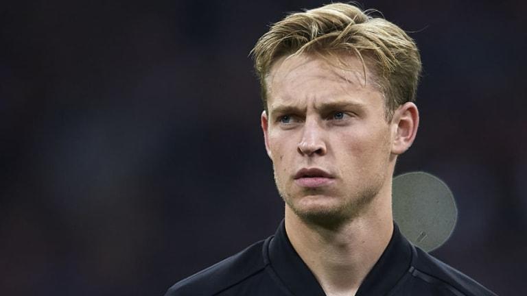 Man City Edge Ahead of Tottenham & Barcelona in Race for Ajax Starlet Frenkie de Jong