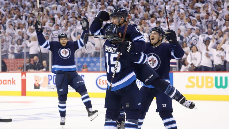 Stanley Cup Playoffs Roundup: Jets Advance to Second Round With First Franchise Series Win