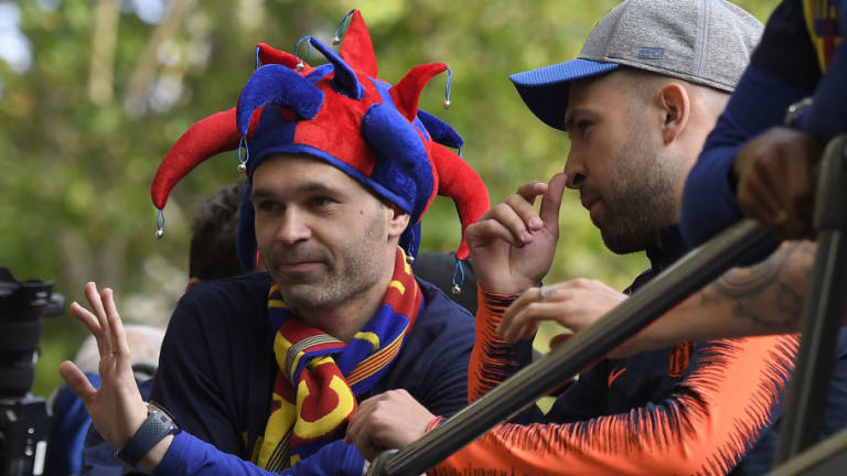 Departing Barça Legend Andres Iniesta 'Not Guaranteed' to Make Final Clasico After Missing Training