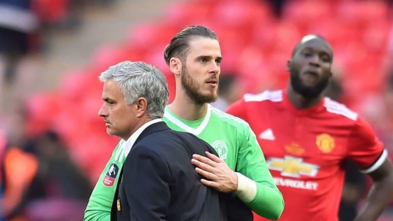 Mourinho pone en duda la continuidad de De Gea en el Manchester United