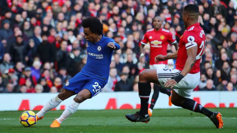 'Cream of the Crop': Mourinho Praises 'Amazing' Willian Prompting Renewed Transfer Speculation