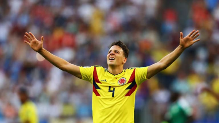 Atletico Madrid Join Race to Sign Santiago Arias as Replacement for Departing Sime Vrsaljko