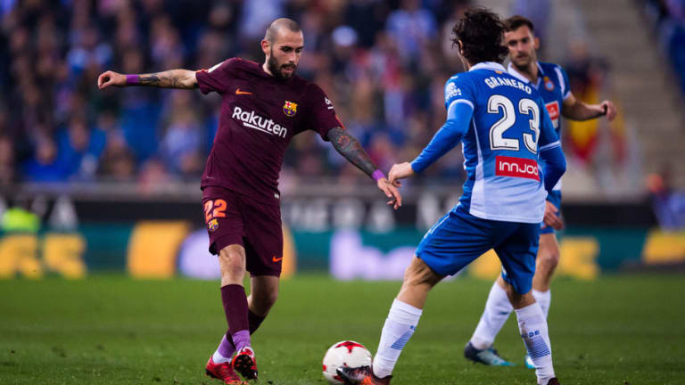 Barcelona Full-Back Aleix Vidal Set to Remain at Barcelona Despite Premier League Interest