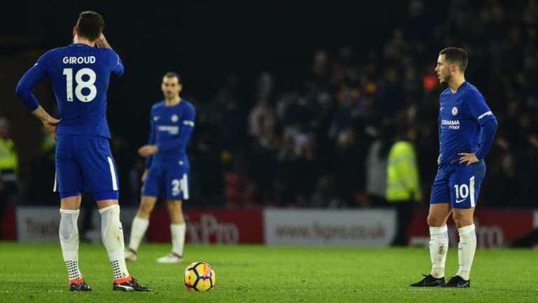 The Mounting Uncertainty at Chelsea Has Seen the Club Relinquish Their Top 4 Birthright