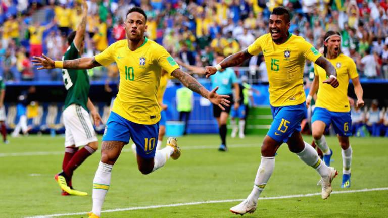 El 1x1 de Brasil en su victoria ante México en octavos (2-0)