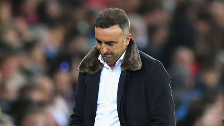 Carlos Carvalhal Hoping for a 'Miracle' After Tough Loss Leaves Swansea on the Brink of Relegation