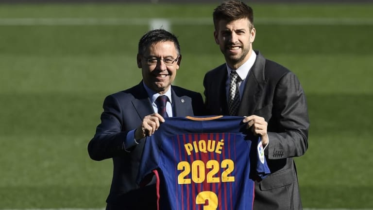 Gerard Pique to Discuss Role in Antoine Griezmann Video Saga With Barcelona Chiefs After Holiday