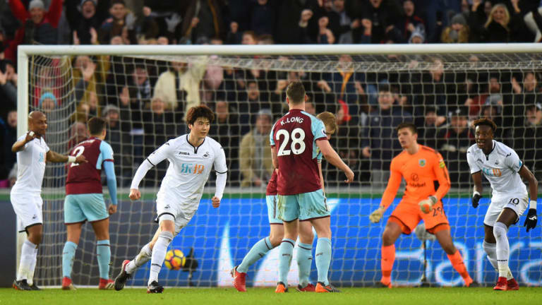 Swansea 1-0 Burnley: Ki Sung-yueng Strike Helps Keep Up Great Escape Effort for Swans