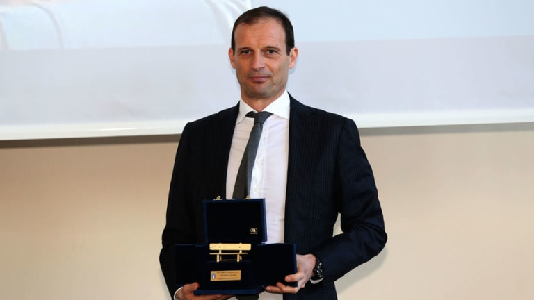 Juventus Coach Massimilliano Allegri Wins Serie A Manager of the Year for the 3rd Time