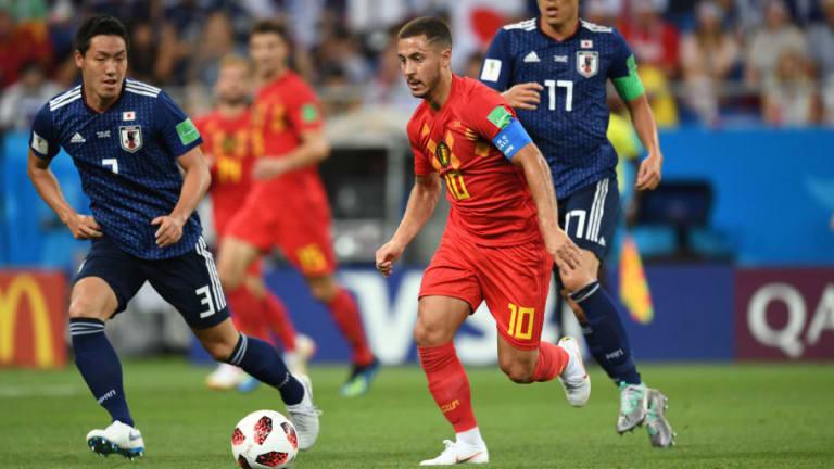 Eden Hazard Praises Belgian Substitutes in Japan Win and Looks Forward to 'Magnificent' Brazil Clash