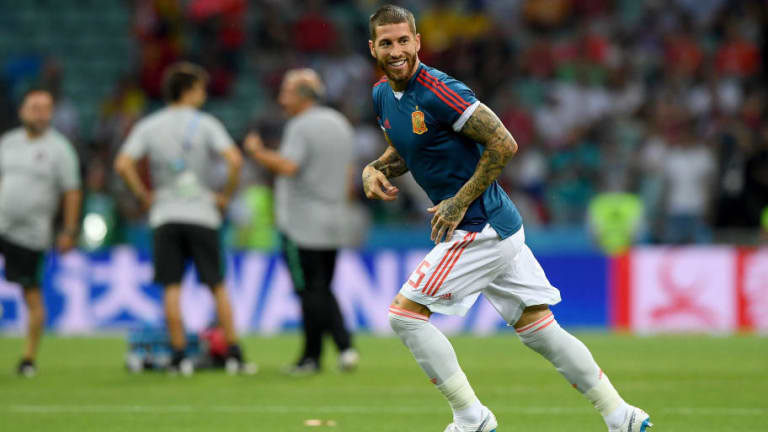 Sergio Ramos Ruthlessly Trolls Liverpool's Mohamed Salah Following Egypt World Cup Misery