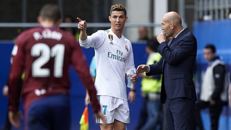 Real Madrid Coach Zinedine Zidane Admits Eibar Were 'Better Team' & Praises Brace Hero Ronaldo