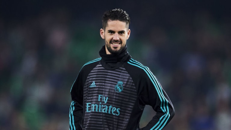 Isco Could Match Zinedine Zidane's Appearance Tally for Real Madrid Against Alaves on Saturday