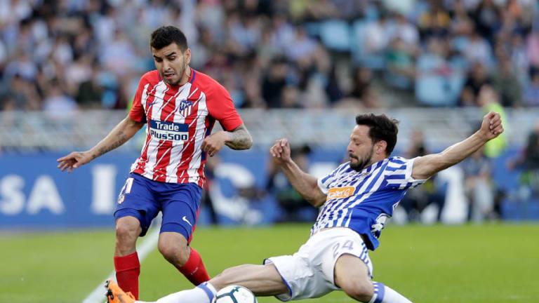Atlético de Madrid-Real Sociedad   Alineaciones confirmadas