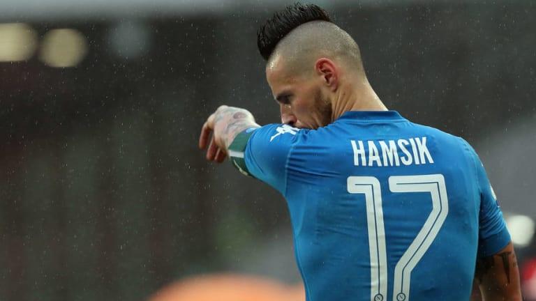 Marek Hamsik Hands Napoli Big Injury Boost With Return to Training Ahead of Sassuolo Encounter